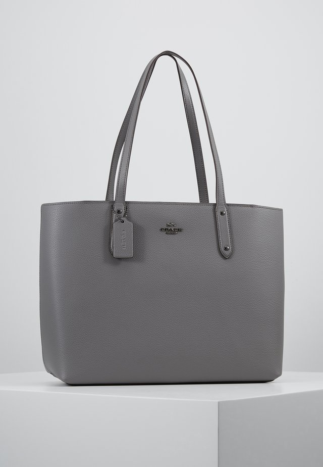 CENTRAL TOTE WITH ZIP - Torba na zakupy - heather grey