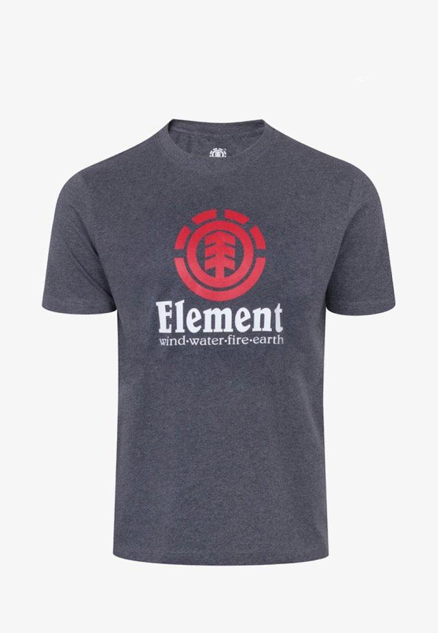 VERTICAL - T-shirt imprimé - Gray