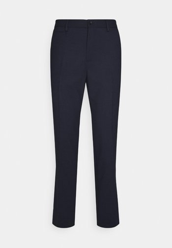 SIAM CROPPED STRETCH PANTS - Pantaloni - navy