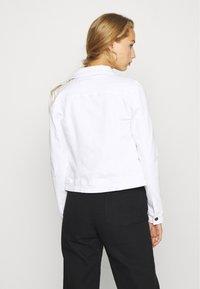 Object - OBJWIN NEW JACKET - Jeansjakke - white - 2