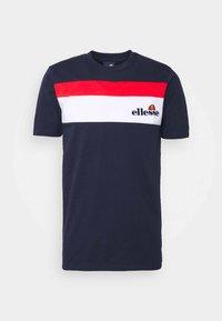 Ellesse - ARAN - Print T-shirt - navy - 0