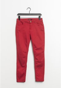 Esprit - Relaxed fit jeans - red - 0