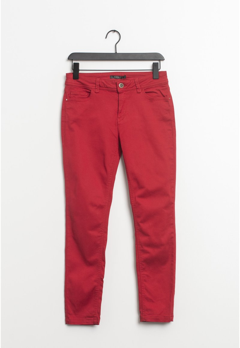 Esprit - Relaxed fit jeans - red