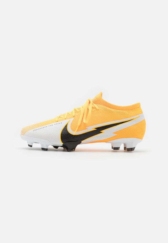 MERCURIAL VAPOR 13 PRO FG - Chaussures de foot à crampons - laser orange/black/white