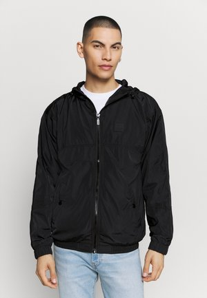 J-ETHAN-KA JACKET - Summer jacket - black