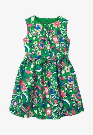 VINTAGE - Day dress - smaragdgrün, tropenparadies