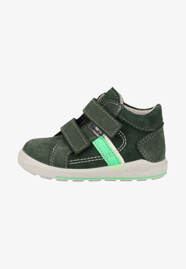 Touch-strap shoes - olive