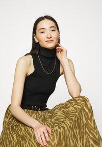 Object - OBJZANIA SKIRT - A-line skirt - khaki/animal - 3