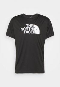 The North Face - MENS REAXION EASY TEE - Camiseta estampada - black - 3