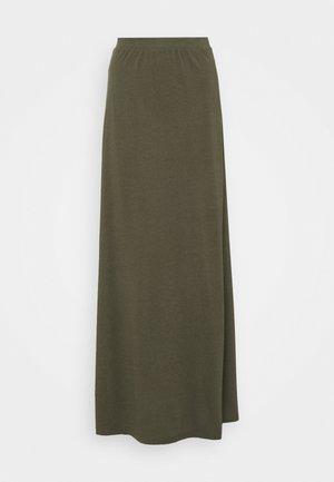 Maxi skirt - dark green