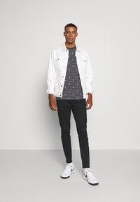 Burton Menswear London - STRETCH - Chino - black - 1