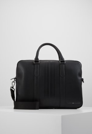 SLIM COMPUTER BAG - Aktówka - black