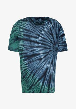 Print T-shirt - mystic blue/greige/ocean grey