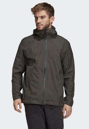 CLIMAPROOF RAIN JACKET - Waterproof jacket - green