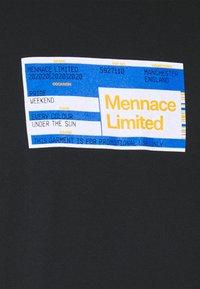 Mennace - PRIDE TICKET UNISEX - Print T-shirt - black - 6