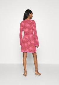 Never Fully Dressed - MOSAIC TILE SWING DRESS - Jumper dress - pink - 2
