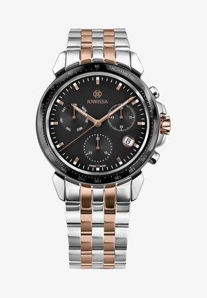 LEWY SWISS  - Chronograph watch - rosa schwarz