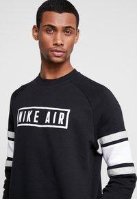 Nike Sportswear - AIR CREW  - Sudadera - black/white/grey heather - 3