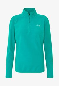 The North Face - WOMEN'S GLACIER 1/4 ZIP - Fleece jumper - jaiden green - 4