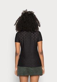 JDY - JDYCATHINKA - Print T-shirt - black - 2