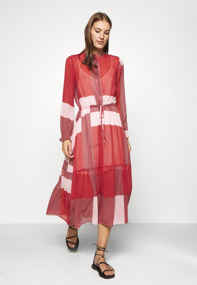 DIAZ - Shirt dress - red