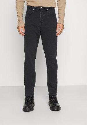 5-POCKET REGULAR WAIST COVERED  - Jeansy Slim Fit - multi/greyish worn out black