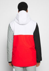 OOSC - FRESH POW JACKET - Lyžařská bunda -  white/red/black/grey - 2