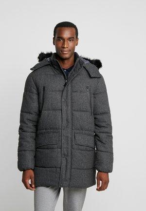 Zimní kabát - mottled grey