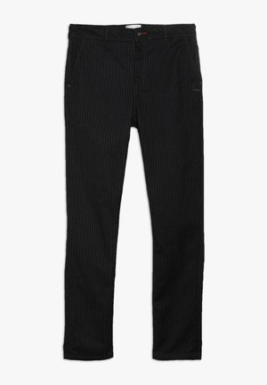 SPIKE - Pantalones - black