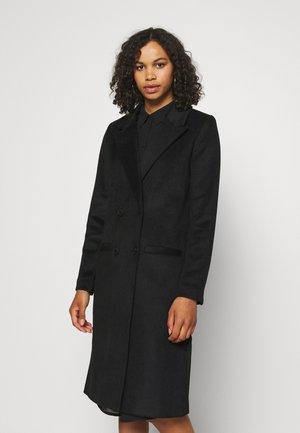 OBJLINEA COAT - Classic coat - black