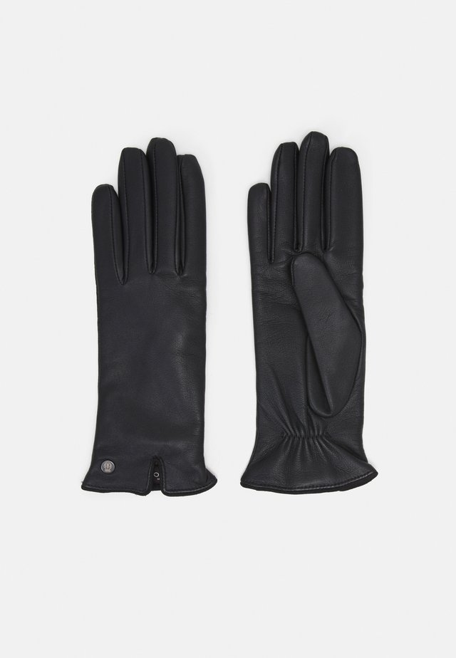 KLASSIKER GERAFFT - Gloves - black