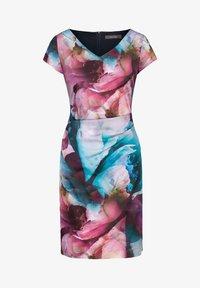 Vera Mont - Shift dress - dark blue/pink - 2