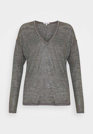 LUCY - Top sdlouhým rukávem - grey marl