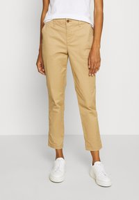 GAP - GIRLFRIEND - Pantalones chinos - beige - 0