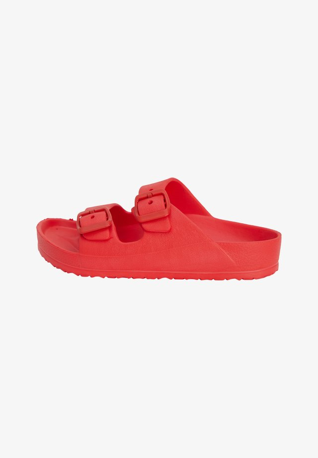 Badslippers - red