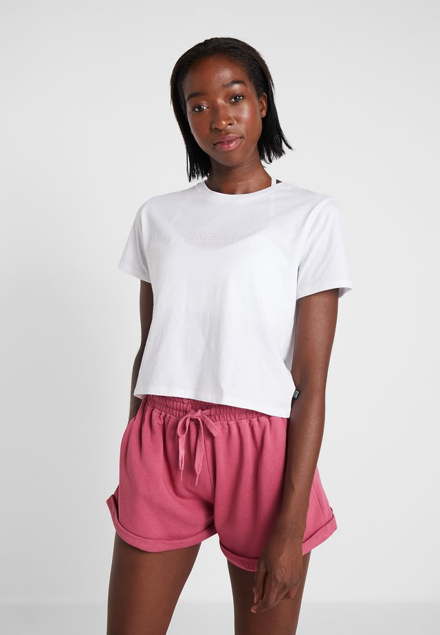ACTIVE PLACEMENT - Printtipaita - white