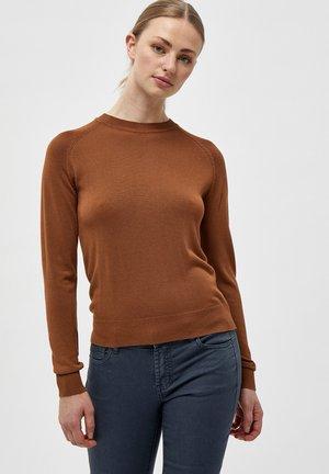 BENELLI - Jumper - rubber brown