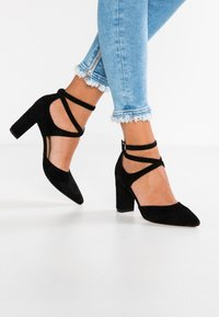 Anna Field - LEATHER CLASSIC HEELS - High heels - black - 0
