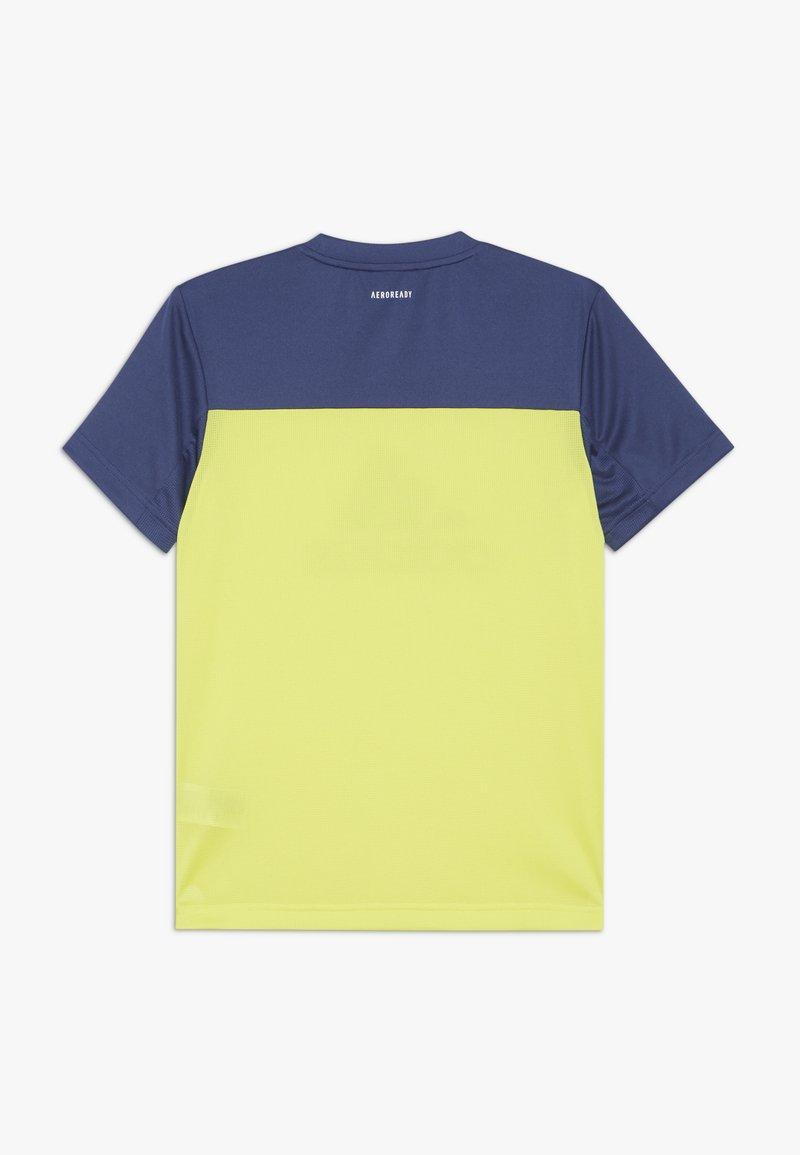 adidas Performance - TEE - T-Shirt print - yellow