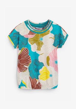 BUBBLEHEM - Print T-shirt - blue