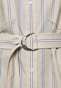 3.1 Phillip Lim - STRIPED BUTTON UP SHIRT DRESS - Shirt dress - tan - 5