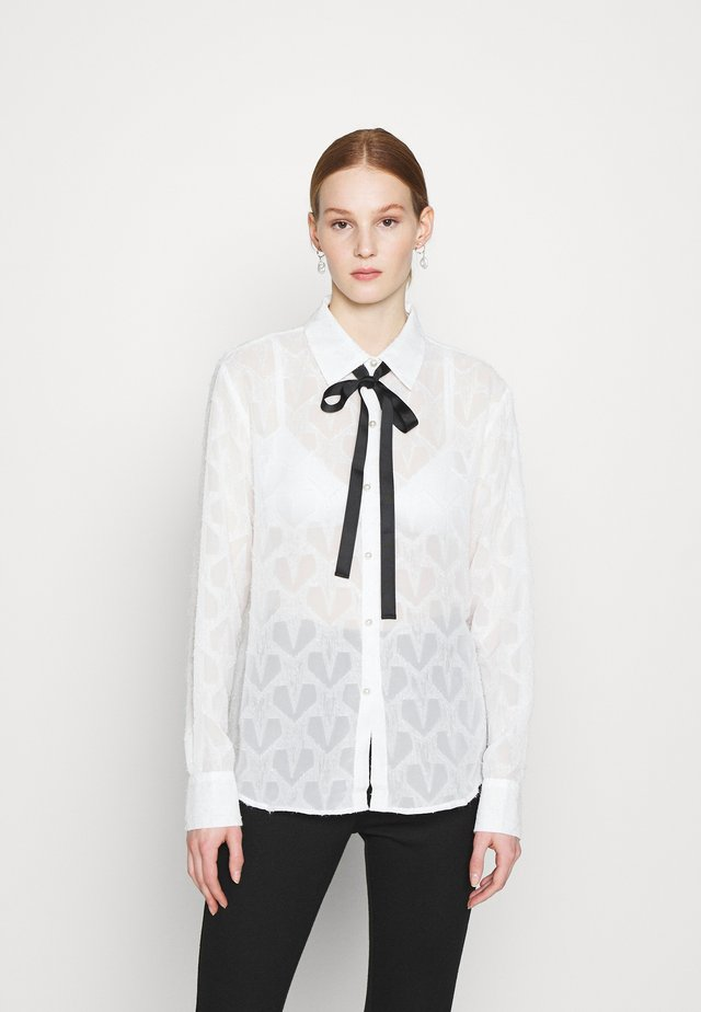 BANQUET READY BOW - Camicia - ivory