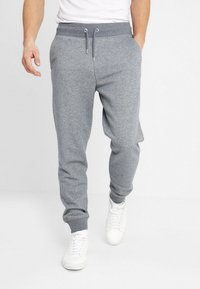 GANT - THE ORIGINAL PANT - Tracksuit bottoms - dark grey melange - 0
