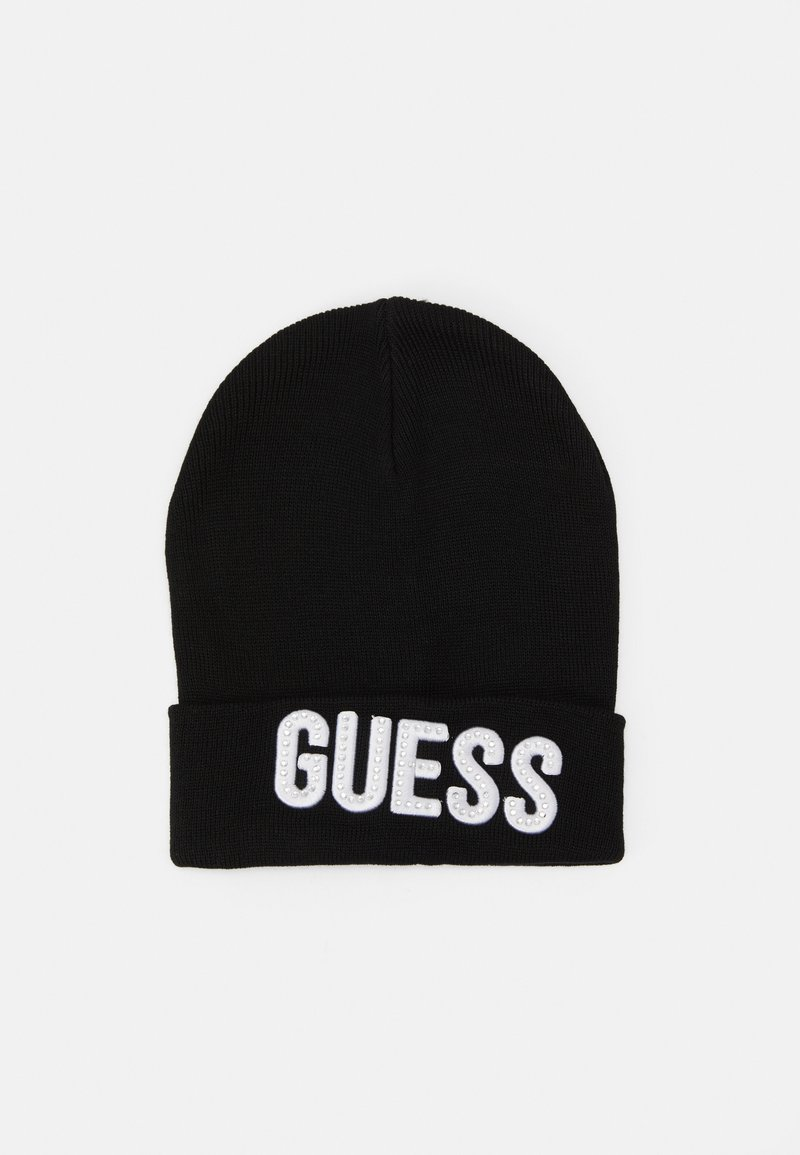 Guess - HAT WITH LOGO - Gorro - jet black