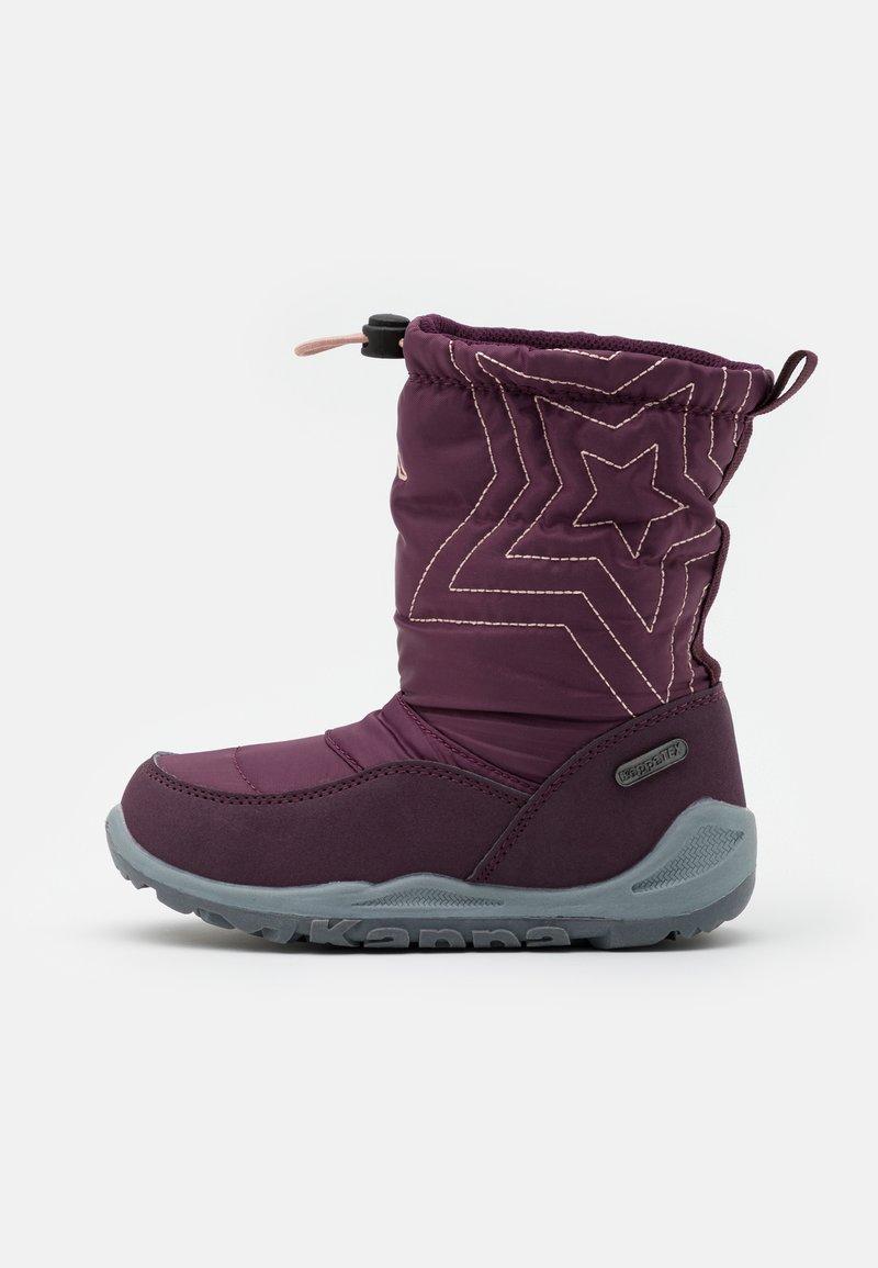 Kappa - CESSY TEX UNISEX - Winter boots - purple/rosé