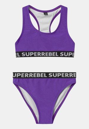 SET - Bikini - fluo purple