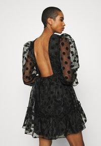 By Malina - JUDY DRESS - Vestido de cóctel - black - 3