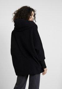 Noisy May - NMCUDDLE COATIGAN - Winter coat - black - 2