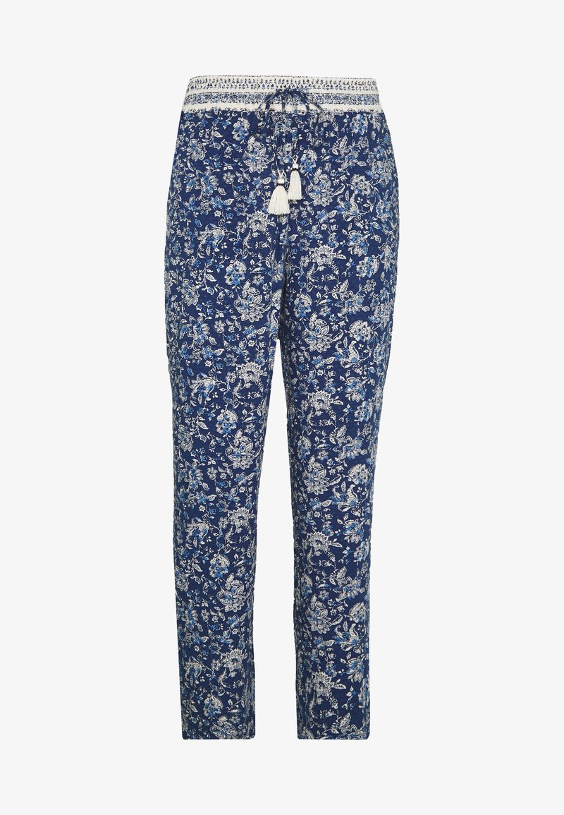 Springfield - PANT FLUIDO  - Bukse - blue