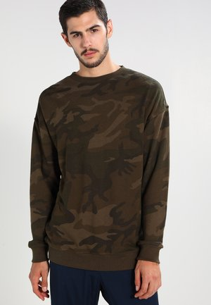 CAMO - Sweatshirt - olive
